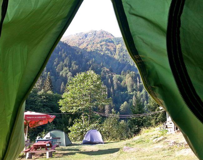 Ayder'de kamp