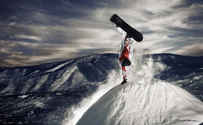 Snowboard zirve