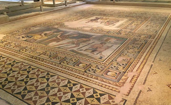 Zeugma Antik Kenti mozaikleri